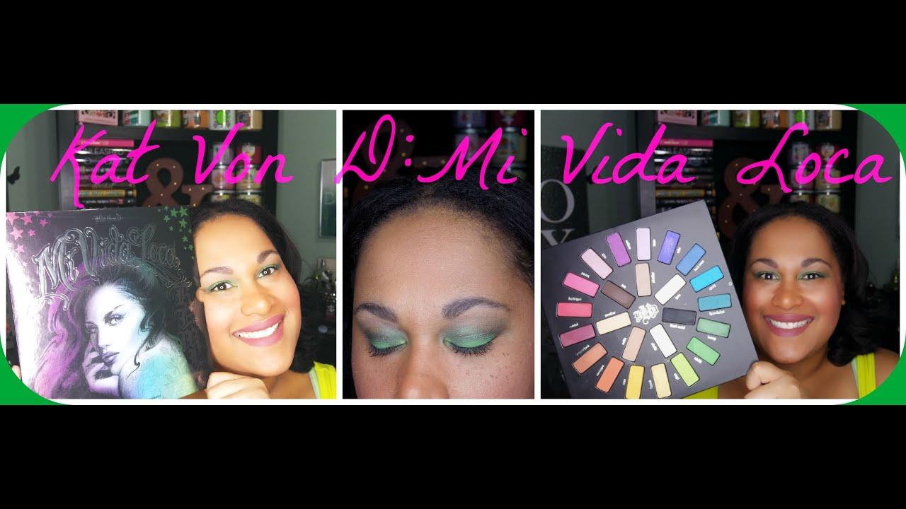 Kat Von D Mi Vida Loca Remix Holiday 2015 Palette 1st Impression