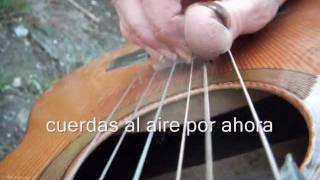 """TRUCOS DE GUITARRA: acompañamiento """"sabrosón""""  para la man..."""