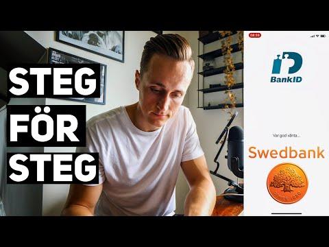 Bank ID - Beställa nytt BankID Steg för Steg. Swedbank via din mobil eller surfplatta