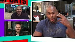 Shad Gaspard Talks About Armed Robbery on 'TMZ Sports'