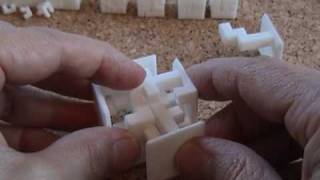Steady State Cube puzzle sculpture