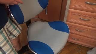 Кресло FunDesk LST3 сине-серый - Обзор