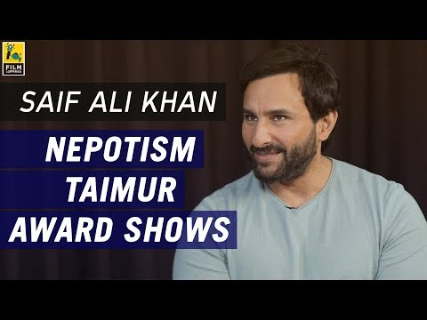 Saif Ali Khan Interview with Anupama...