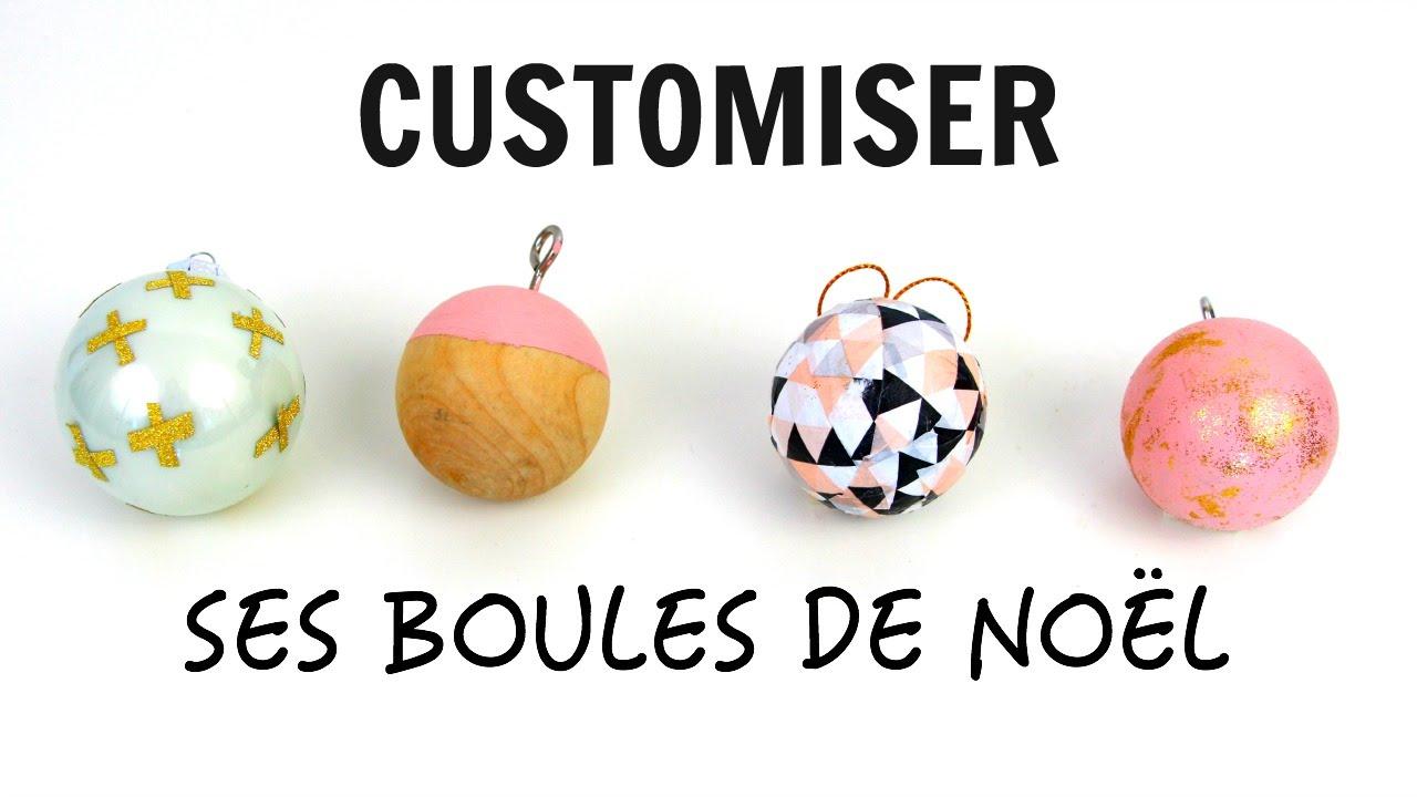 Boule De Noel A Customiser.Diy Customiser Ses Décorations De Noël