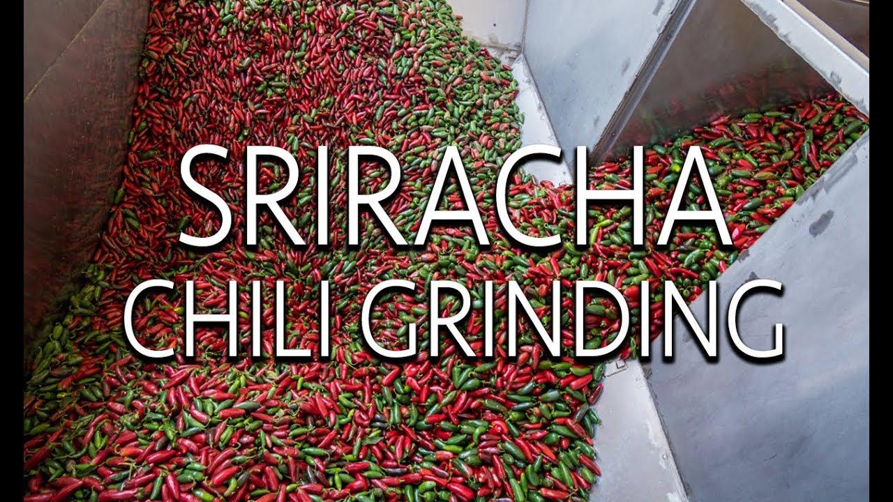 Sriracha Chili Grinding Open House 2017