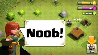 Clash of Clans - Noob quest th1 to th 11- Episode 1
