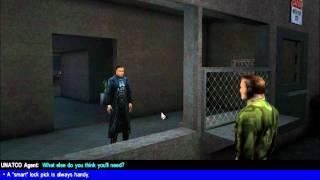 Deus Ex:Game Of The Year PC Walkthrough.Headquaters(Part3)