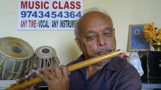"Hey Krishna""DEVARA DUDDU""kannada FLUTE song by VISWANATHA LS"