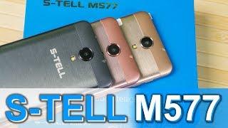 S-TELL M577 - Обзор смартфона за $70