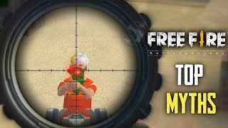 Top Mythbusters In FREEFIRE Battleground After Update | FREEFIRE Myths #133