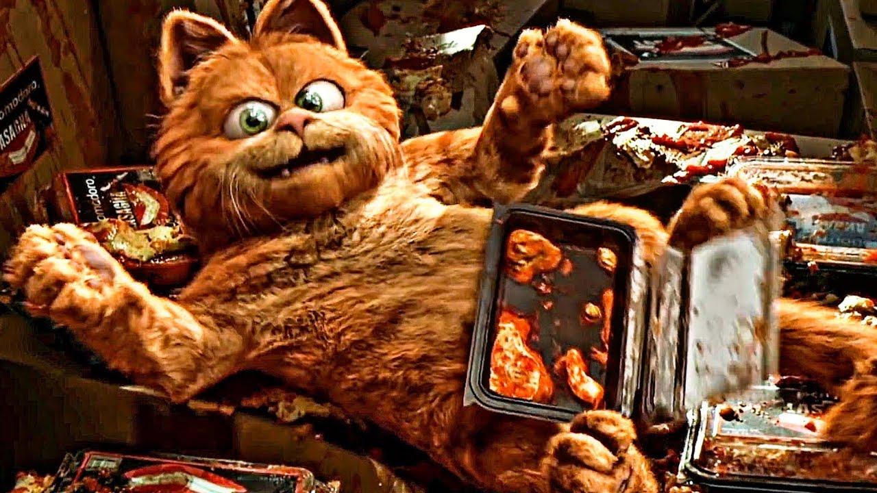قط مجنون مدلع🐈بيحاول ينقذ كلب🐩من عصابة خطيرة 😂♥️|ملخص فيلم Garfield