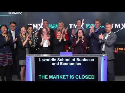 Lazaridis School of Business and Interbrand Closes Toronto Stock Exchange, November 29, 2017
