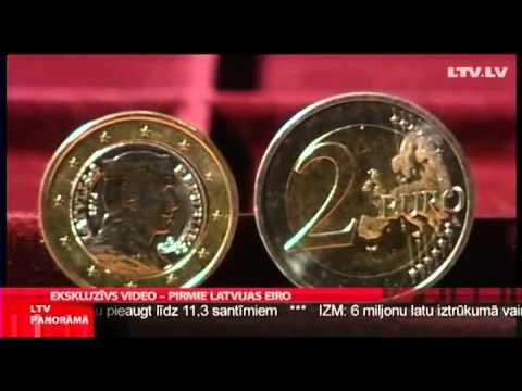 Letland eurocoins 2014 Latvija Latvia