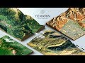 How to create a 3D Terrain with Google Maps and height maps in Photoshop?