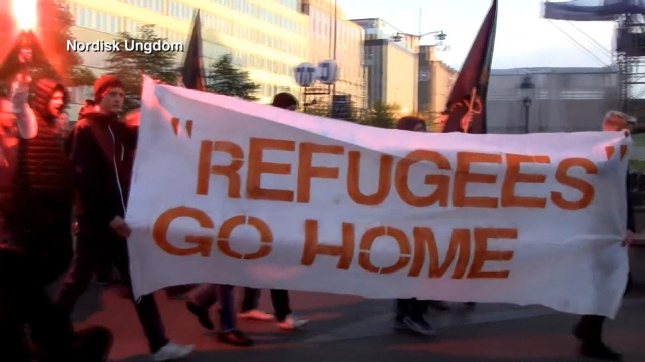 Anti-Immigrant Protests Grow as Refugees Flood Europe | ABC News - YouTube