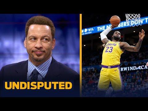 LeBron is undoubtedly strengthening his MVP case — Chris Broussard   NBA   UNDISPUTED