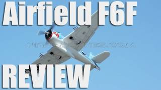 New Airfield 1400mm 6ch F6F Hellcat with Retracts and Split Flaps