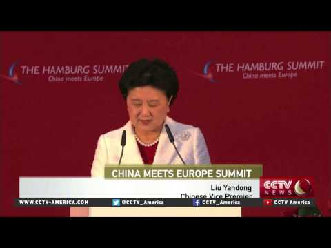 China urges Europe to recognize it a as market economy