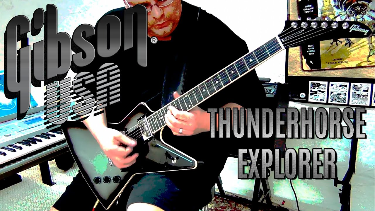 gibson thunderhorse explorer may 15 2012 youtube. Black Bedroom Furniture Sets. Home Design Ideas