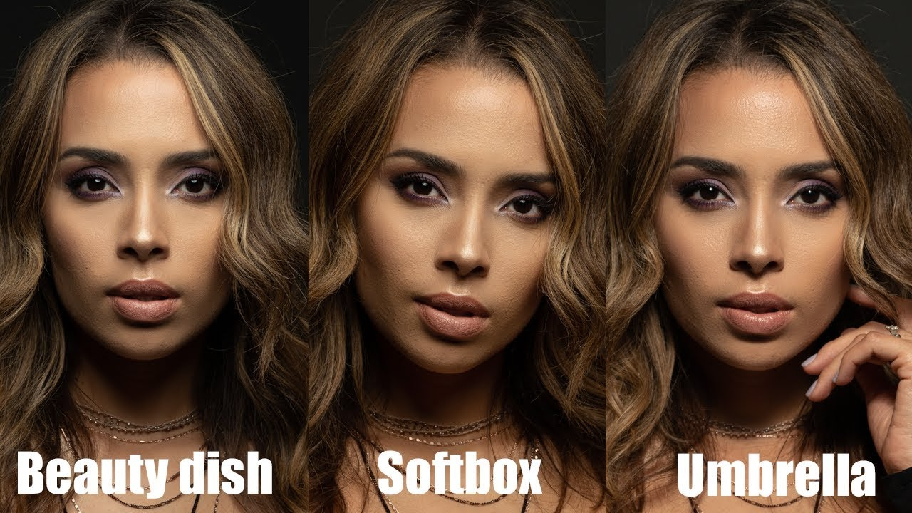 Beauty dish vs Softbox vs Umbrella | Light Modifiers Compared!