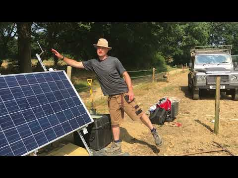 Surrey Seismometer Installation July 2018