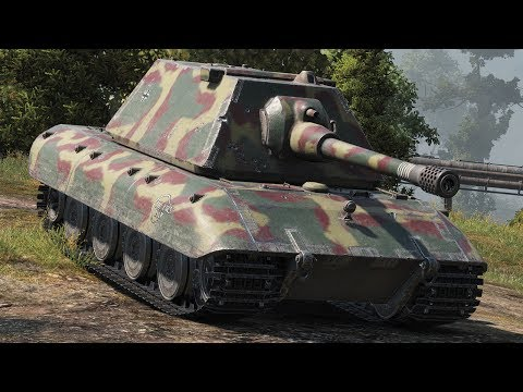 World of Tanks E100 - 9 Kills 10,8K Damage (1 VS 5)