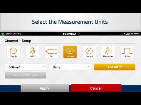 8 Channel Portable Data Logger