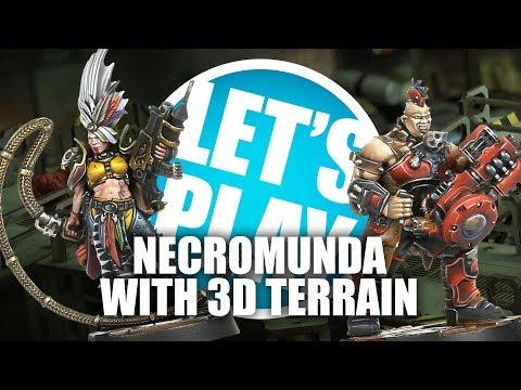Let's Play: Necromunda with Industrial 3D Terrain