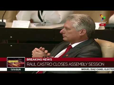 Raul Castro Closes Assembly Session