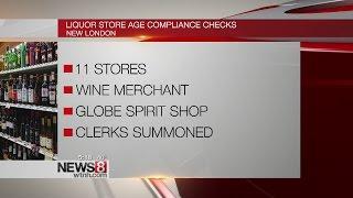 New London Police perform alcohol compliance checks