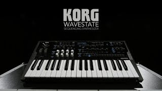 Korg Wavestate Sequencing Synthesizer   Gear4music demo