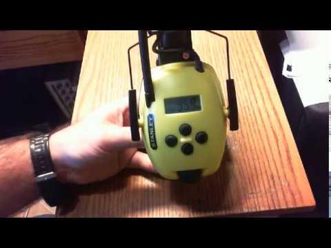 Stanley Sync Radio - Safety Headphones