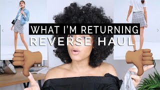 Reverse Haul ASOS: What I'm Returning + Try On & Review