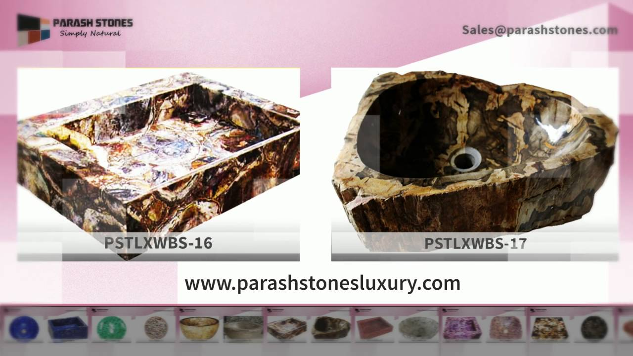 semi precious wash basin sink   gemstone wash basin manufacturer ...