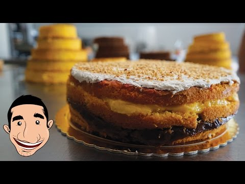 Pizza Dolce, The Most Delicious and Moist Layered Sponge Cake Ever | HuffPost Life