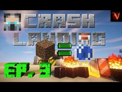 minecraft- -crash-landing-ep.3-convirtiendo-la-tierra-en-agua!!!