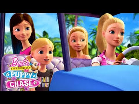 Barbie and Her Sisters in A Puppy Chase (2016) with Kathleen Barr, Natasha Calis, Alex Barima Movie