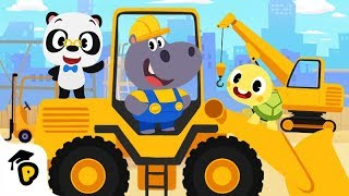 Dr. Panda TotoTime   Hoopa's construction Site   Full Episode 2   Kids Learning Video