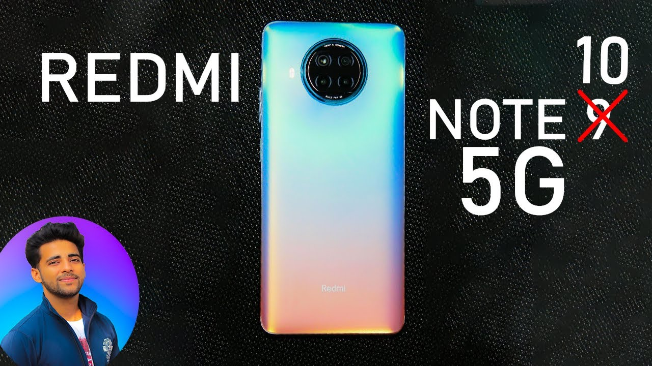 Redmi Note 10 or 9 pro 5G - Coming soon...to India !!