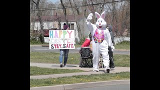 The Easter bunny makes appearance in Central N.J.