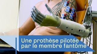Quand le membre fantôme pilote une prothèse | Reportage CNRS