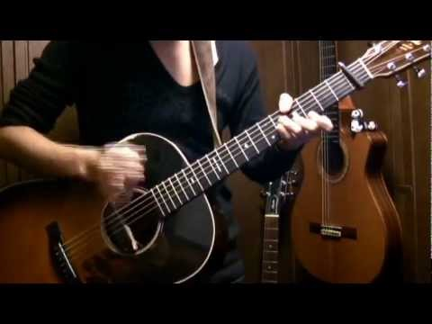 """Zero Point"" By Osamuraisan(Original)-Solo Acoustic Guitar 「零地点」 アコギでロック"