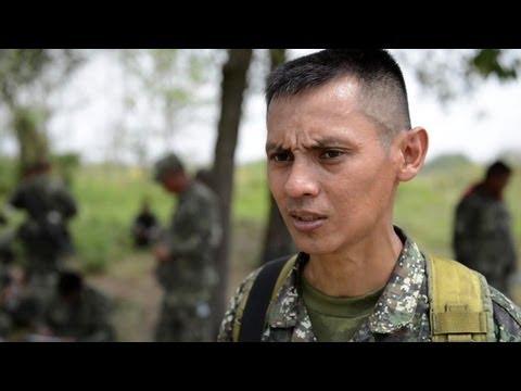 US And Philippine Marines Convoy Training