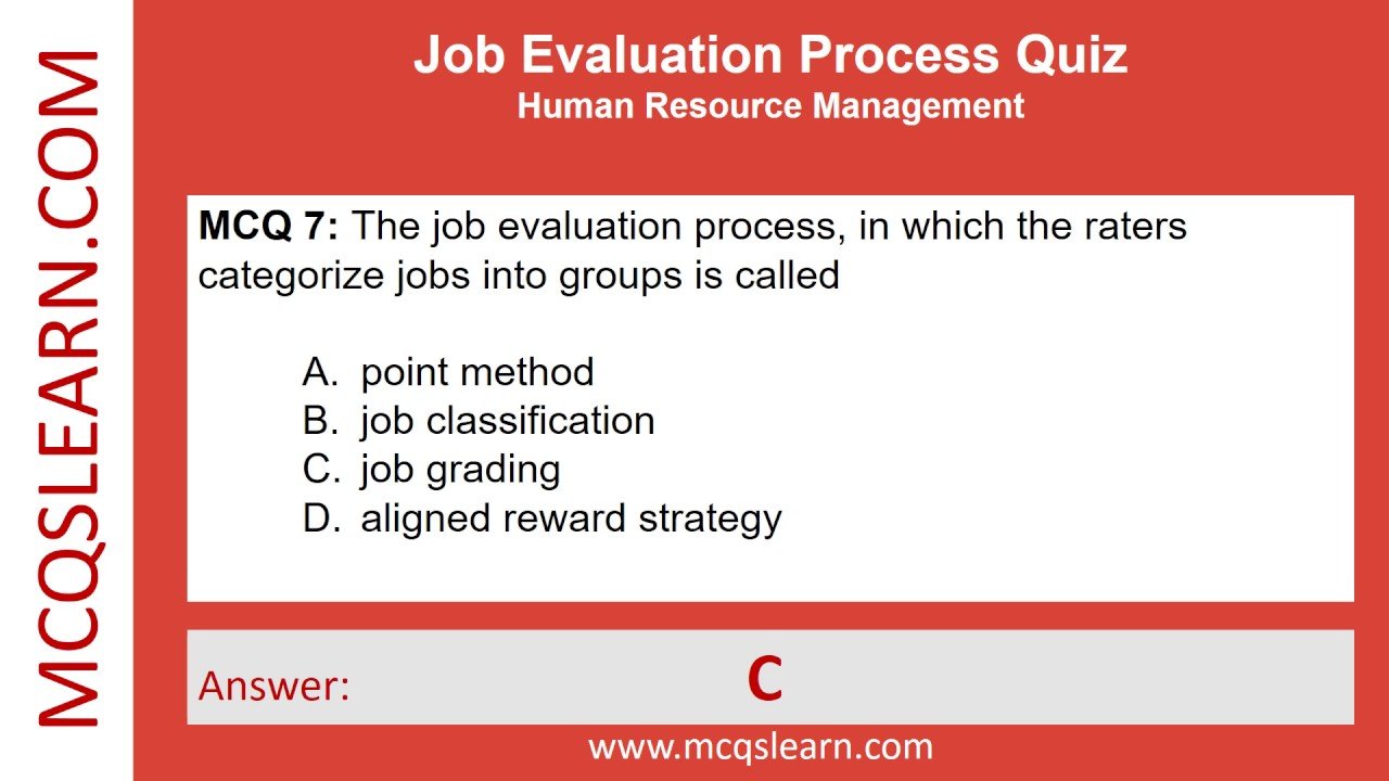 process of job evaluation Job evaluation forms cupe 1334 job analysis questionnaire(pdf)  process for submitting job fact sheets for evaluation usw 4120 job evaluation pilot test.