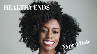 3 Ways To Maintain Healthy Ends |  Type 4 Natural Hair