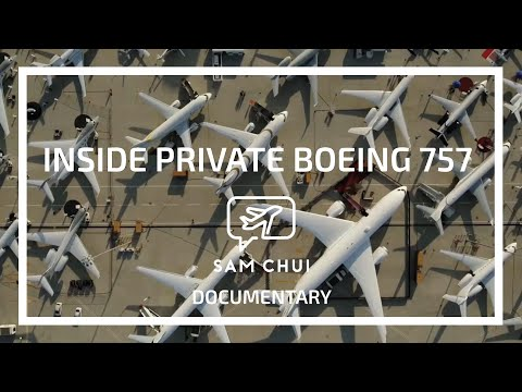 Sam Chui: Inside Private Boeing 757-200 designed by Edése Doret