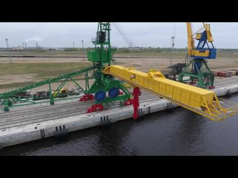 Coal Ship Loader SLL2000. Port of Riga, Latvia.