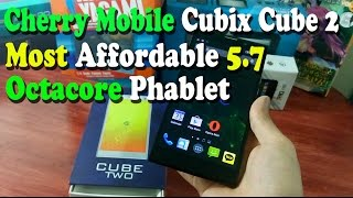 Cherry Mobile Cubix Cube 2 - Tagalog Unboxing and First Impression