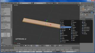 Creating Low-poly Wooden Planks In Blender 2.5: Part 1 [hd]