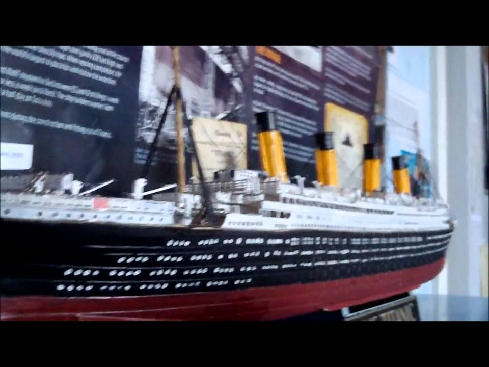 Toys R Us Titanic Model : Revell rms titanic scale model youtube
